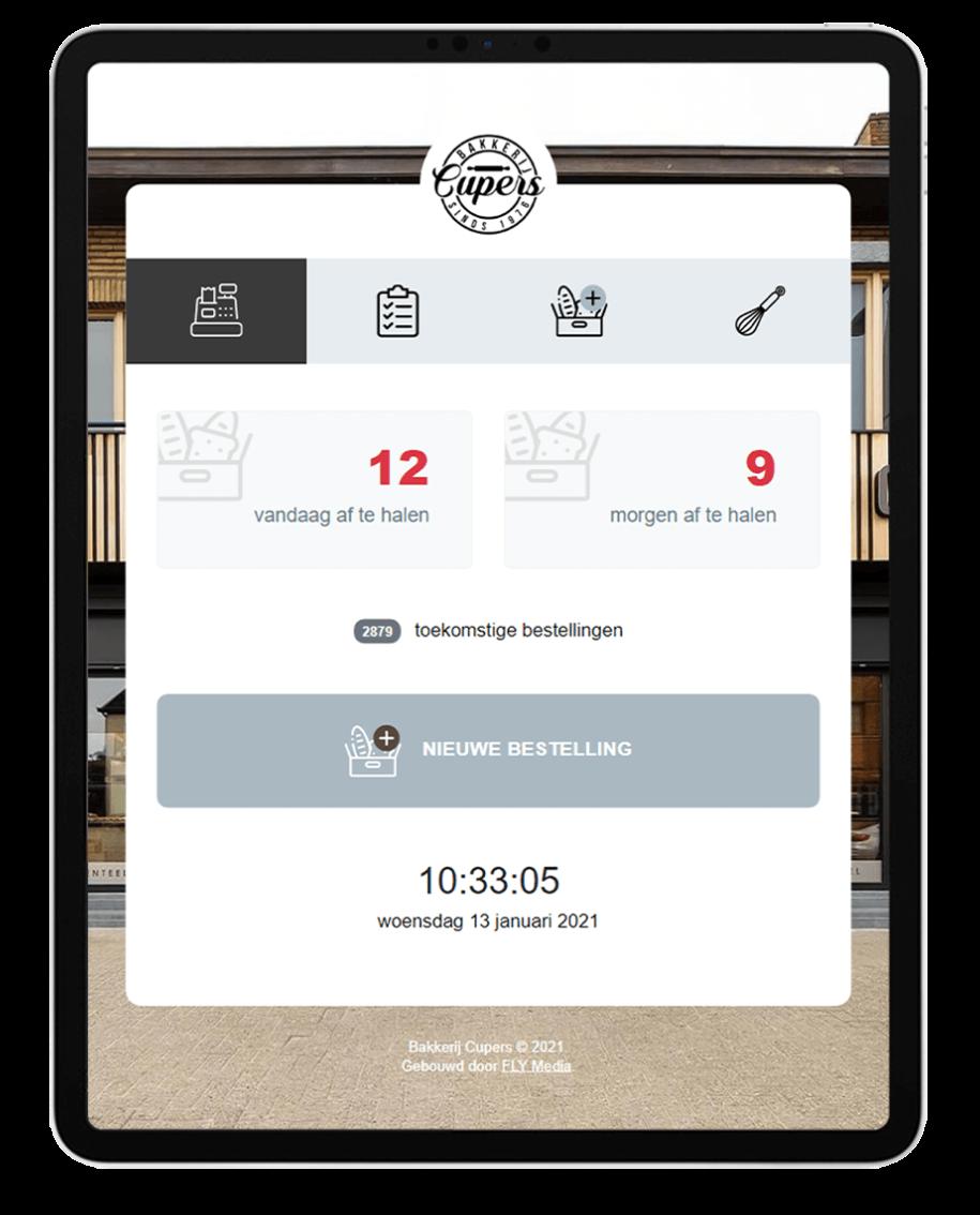 Bakkerij Cupers - Website door Fly Media
