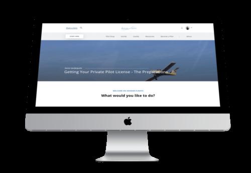 Hangar.Flights - Website door FLY Media