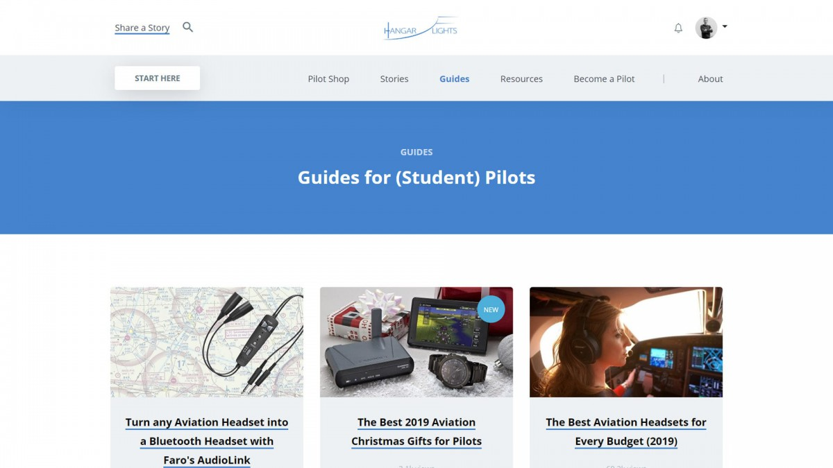 Hangar.Flights Website door Fly Media