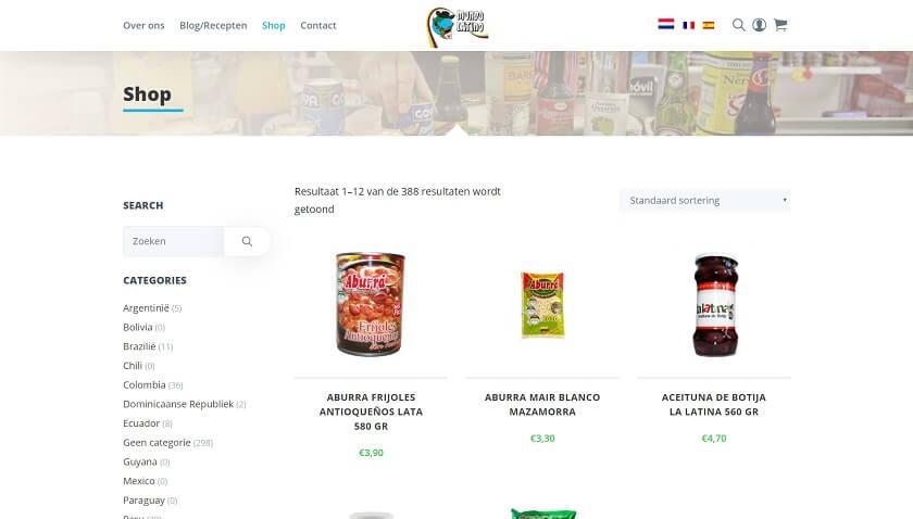 Mundo Latino Website door Fly Media