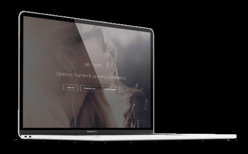 OptiekRuymen.be - Website door FLY Media