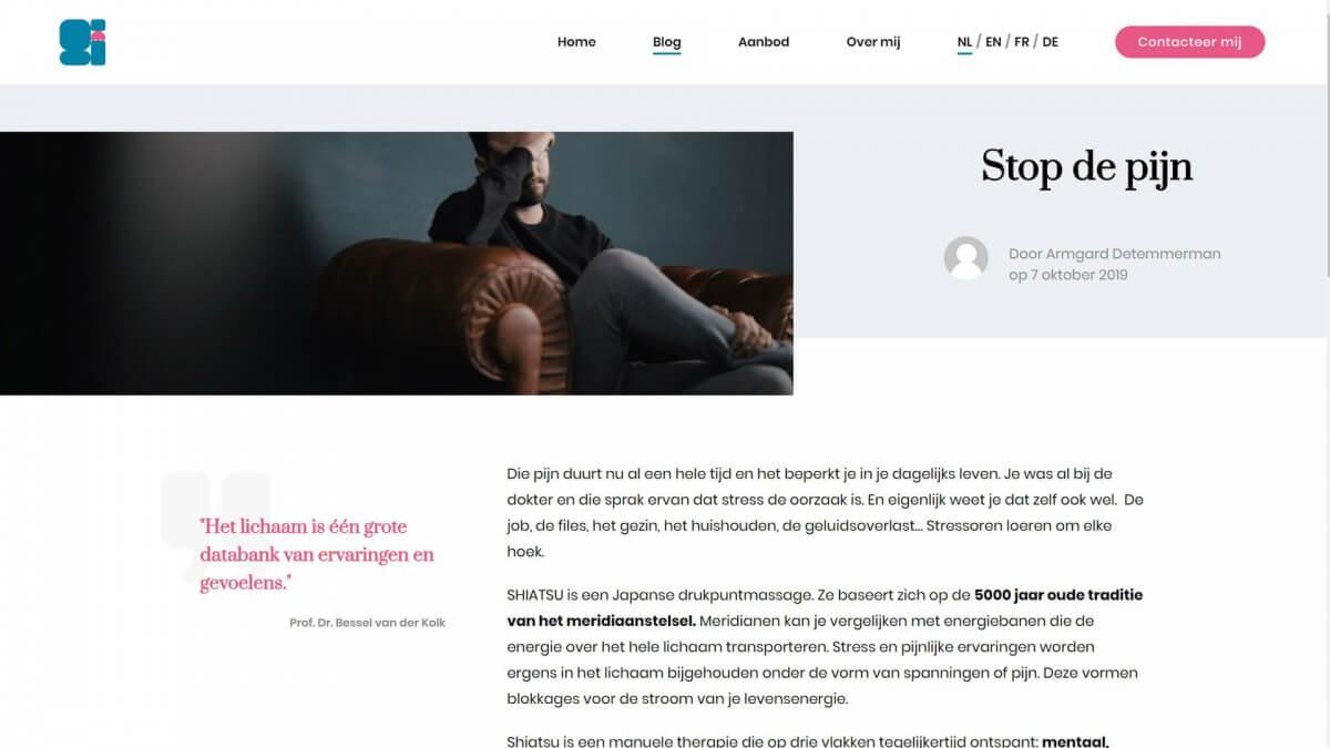 zenADrelax Website door Fly Media