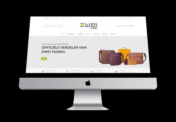 Zwei-bags.eu - Website by FLY Media