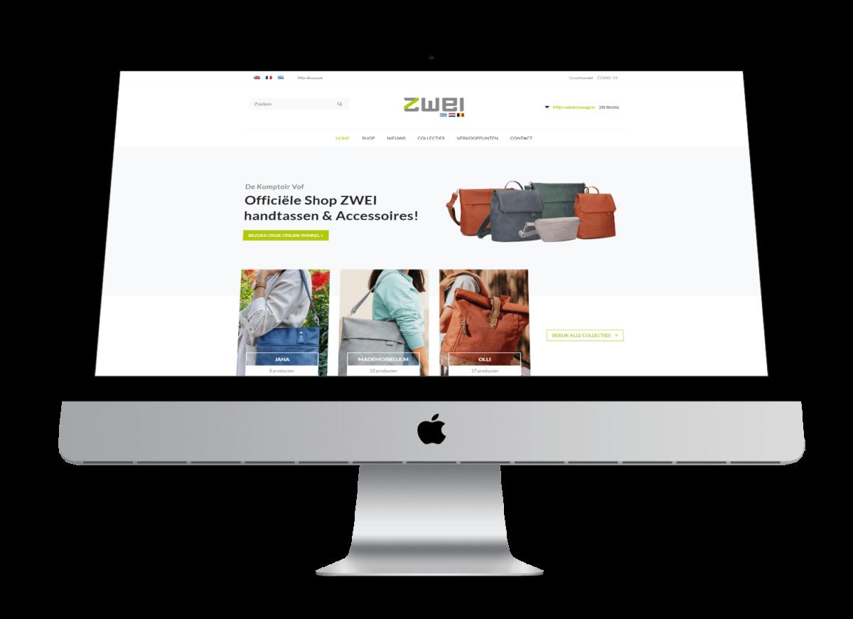 Zwei-bags.eu - Website door FLY Media